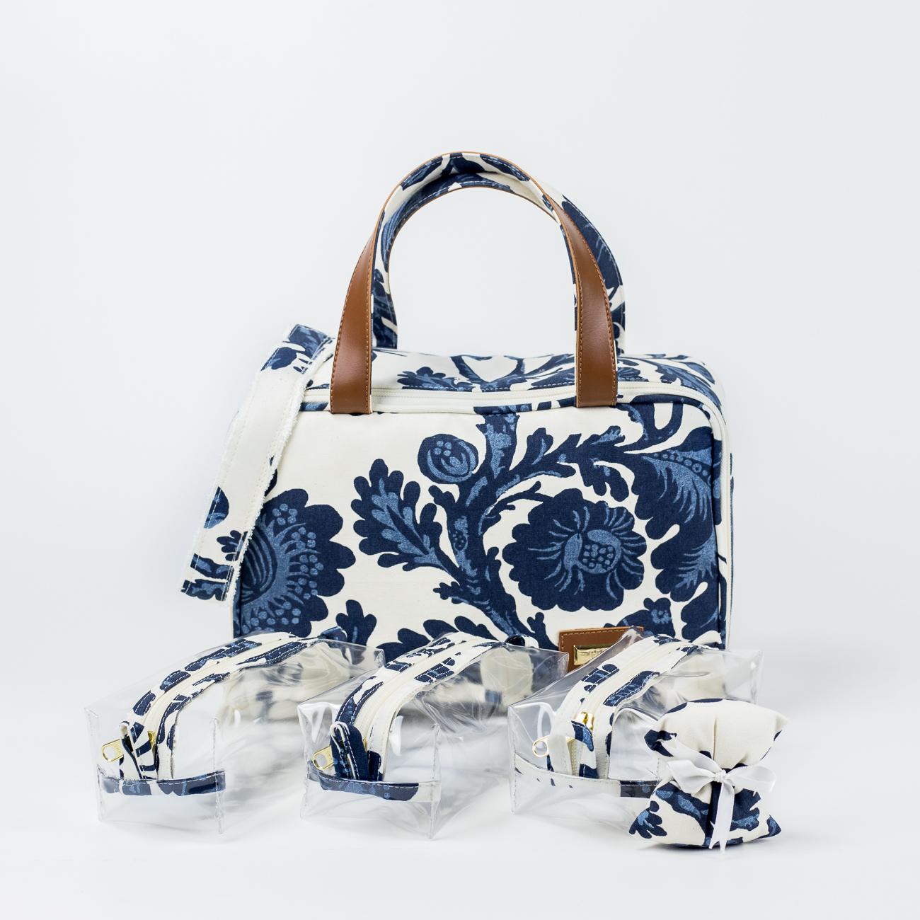 Floral Azul Marinho_Necessaire-1